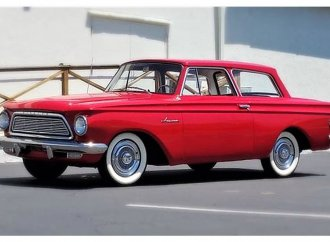 Preserved 1962 Rambler American links fathers and sons