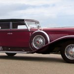 1931 Duesenberg Model J Derham Sport Convertible Sedan