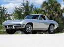 This 1963 Chevrolet Corvette split window coupe will be on the auction block at Barrett-Jackson's Northeast auction June 20-23. | Barrett-Jackson photo