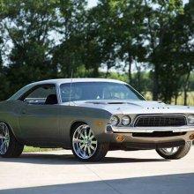 Barrett-Jackson countdown: Custom 1973 Dodge Challenger