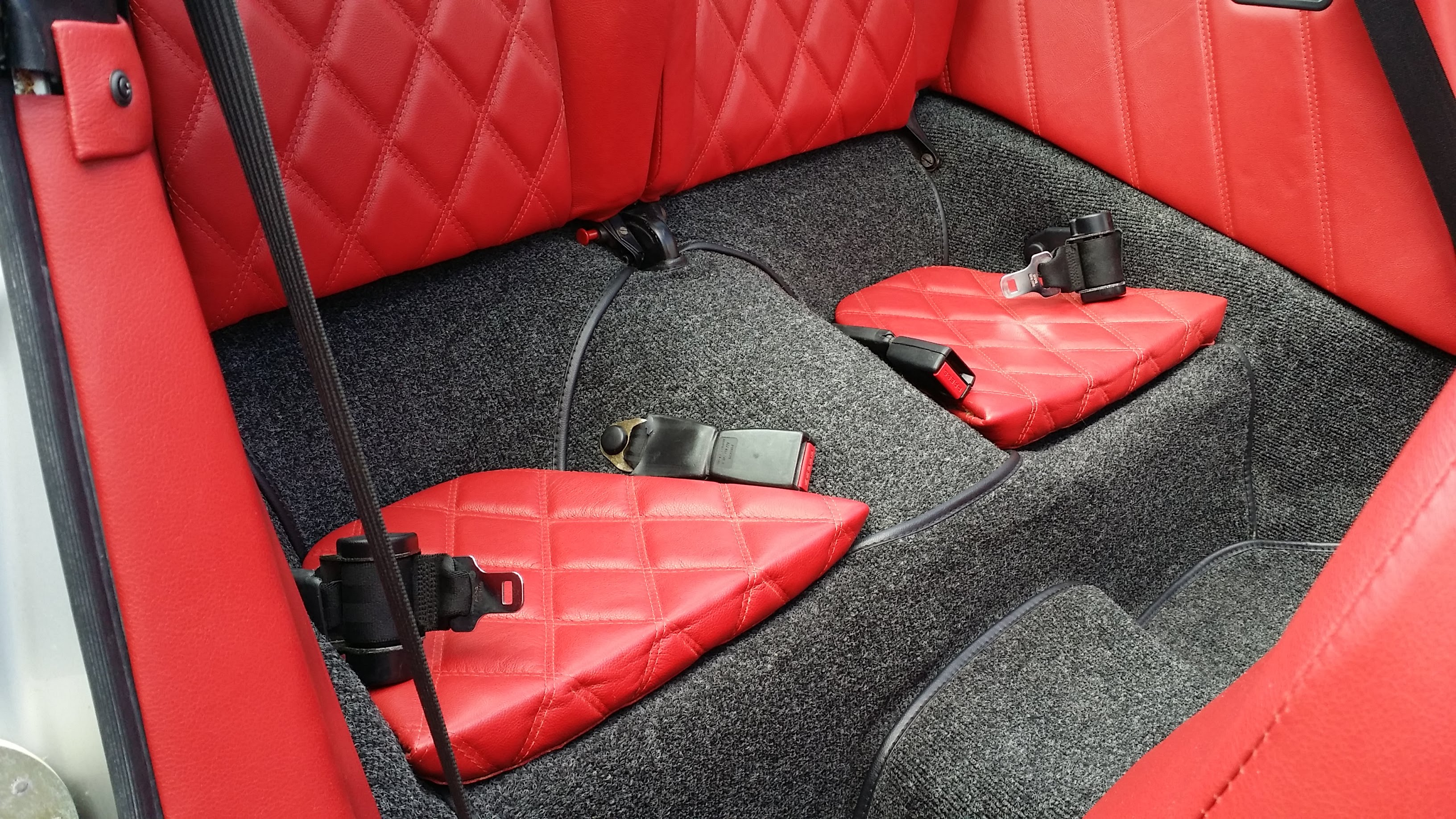 The rear seats were also redone. | Zsolt Kovacs photo