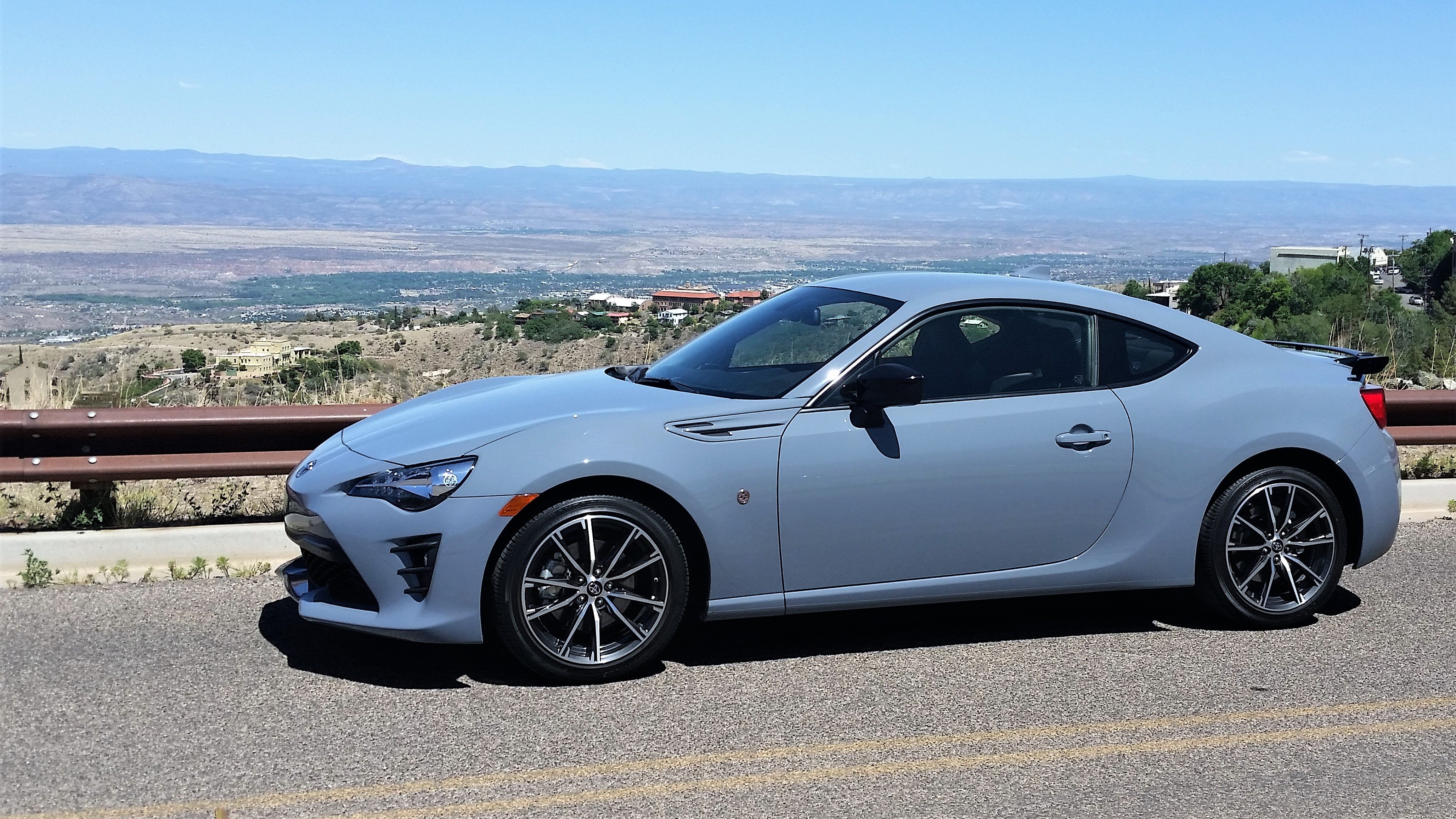 The Toyota 86 was perfectly suited for the Jerome road trip