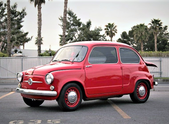 'Angry Mosquito' Fiat 600 ready to buzz Barrett-Jackson auction