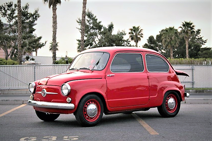 The Fiat 600 has been infused with unexpected performance | Barrett-Jackson photos