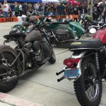 Spectator bikes were as impressive as the show bikes at the Brewtown Rumble. | William Hall photo