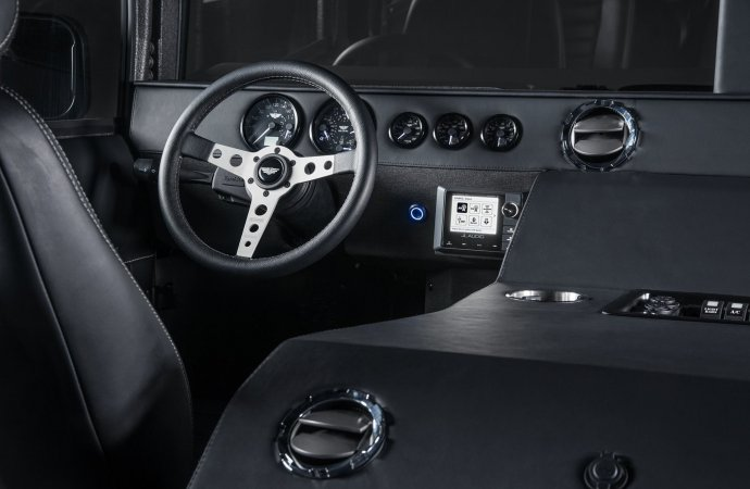 The interior was also given a rework, including the addition of a Momo Prototipo steering wheel. | Facebook photo