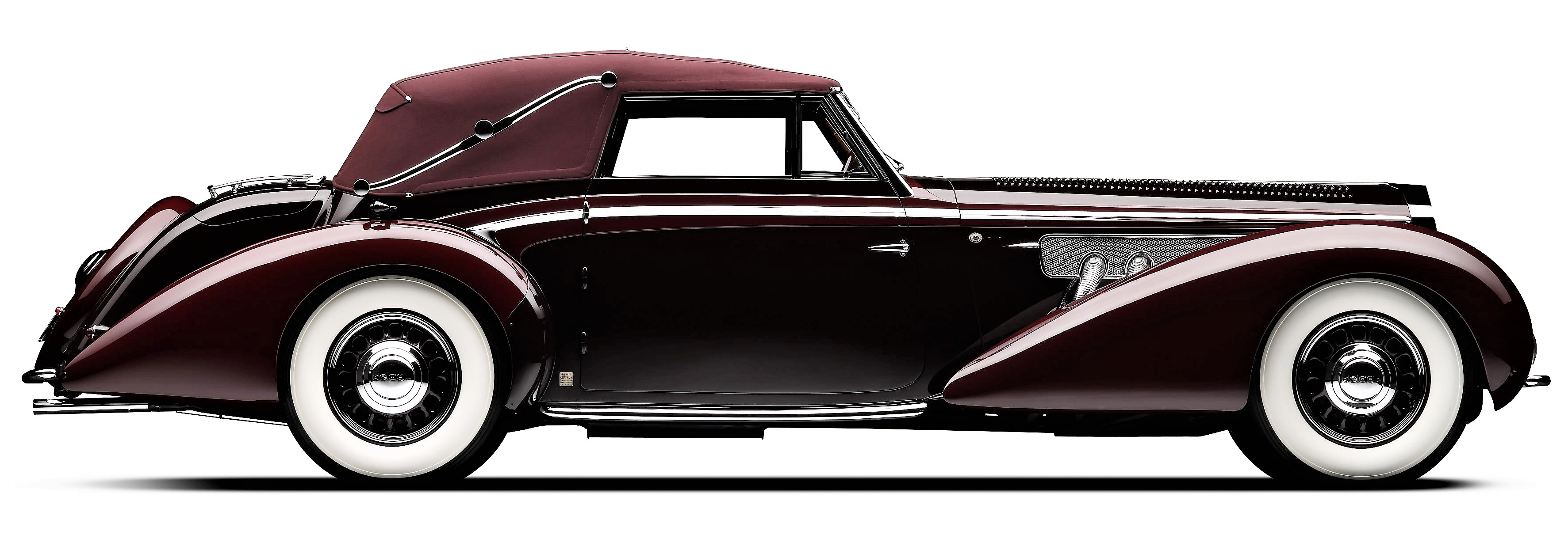 The historic 1939 Delage D8-120 Cabriolet |