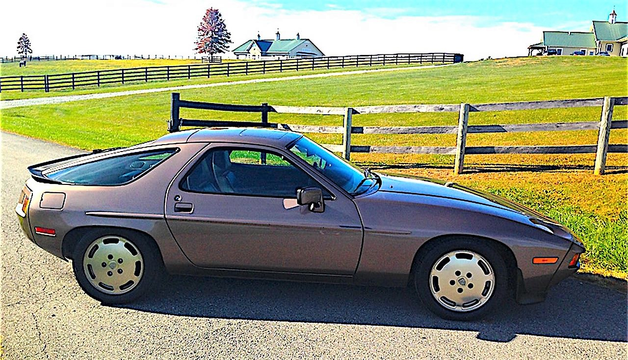 This Porsche 928S is a well-preserved original