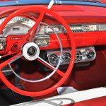 58 Ford Sunliner dash #3482-Howard Koby photo