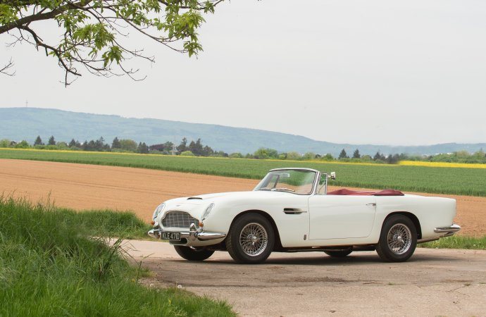 Annual Aston Martin auction another success for Bonhams