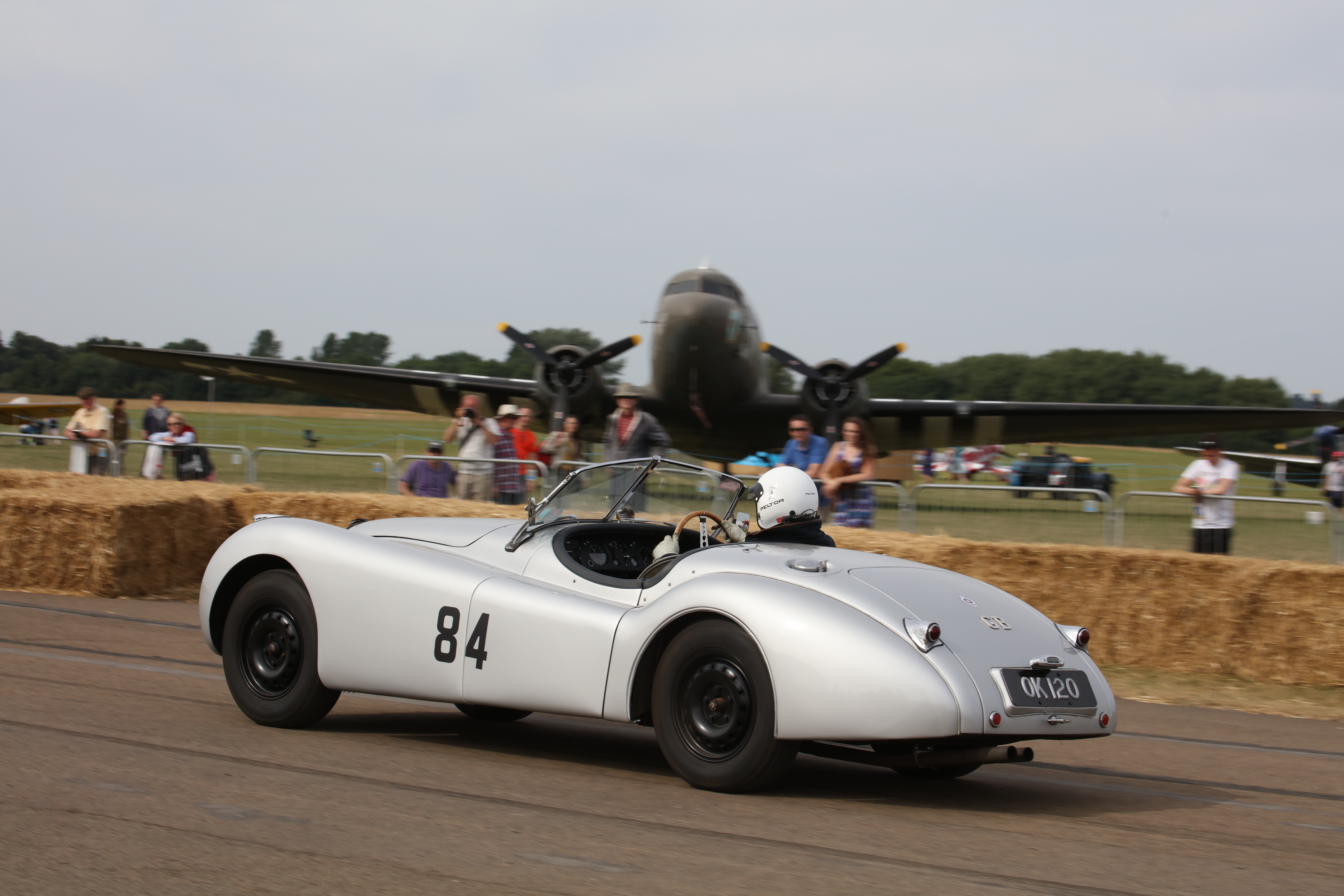 Vintage autos, airplanes celebrated at Bicester Heritage