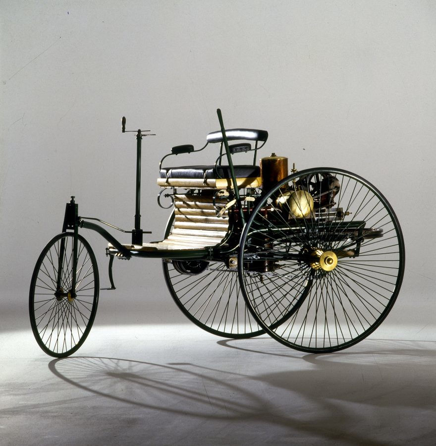Replica Of The World's First Car, The Benz Patent