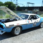 Cuda race car