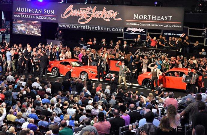 Million-dollar charity sale lifts Barrett-Jackson Northeast Auction