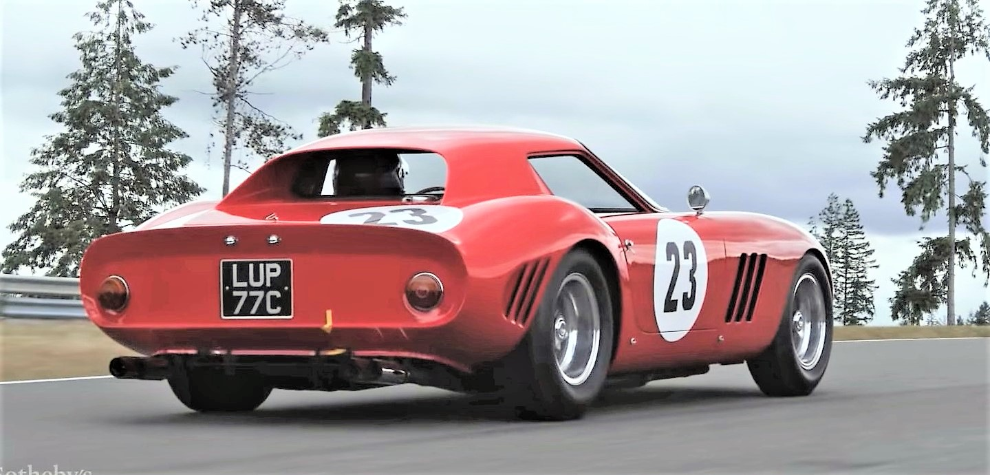 The Ferrari was one of the first 250 GTOs built