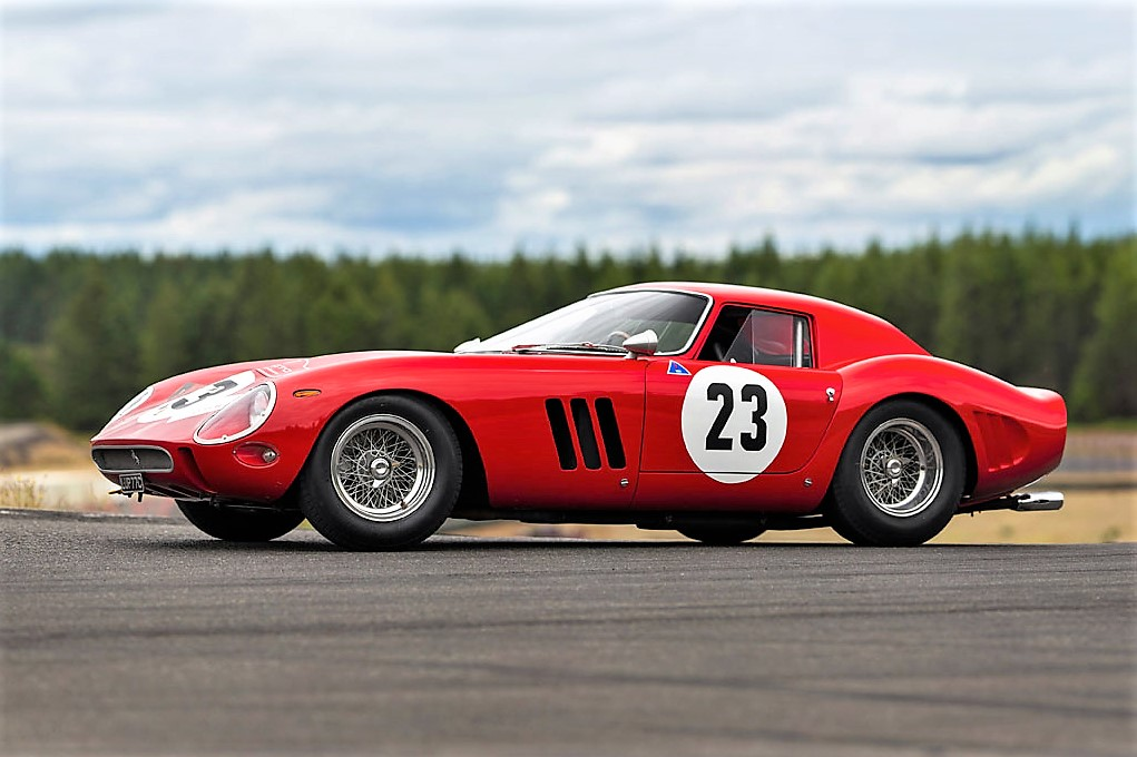 The Ferrari 250 GTO was fitted with a Series II body in 1964 | RM Sotheby's
