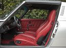The Porsche also has a reupholstered interior. | Zsolt Kovacs photo