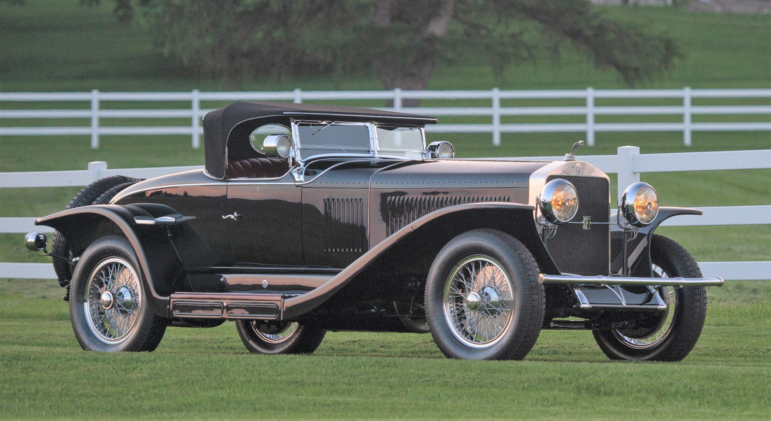 The Isotta Fraschini twice won Best of Class at the Pebble Beach Concours