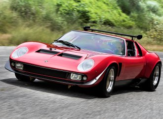 Iconic Lamborghini Miura SVR is restored by the Italian factory