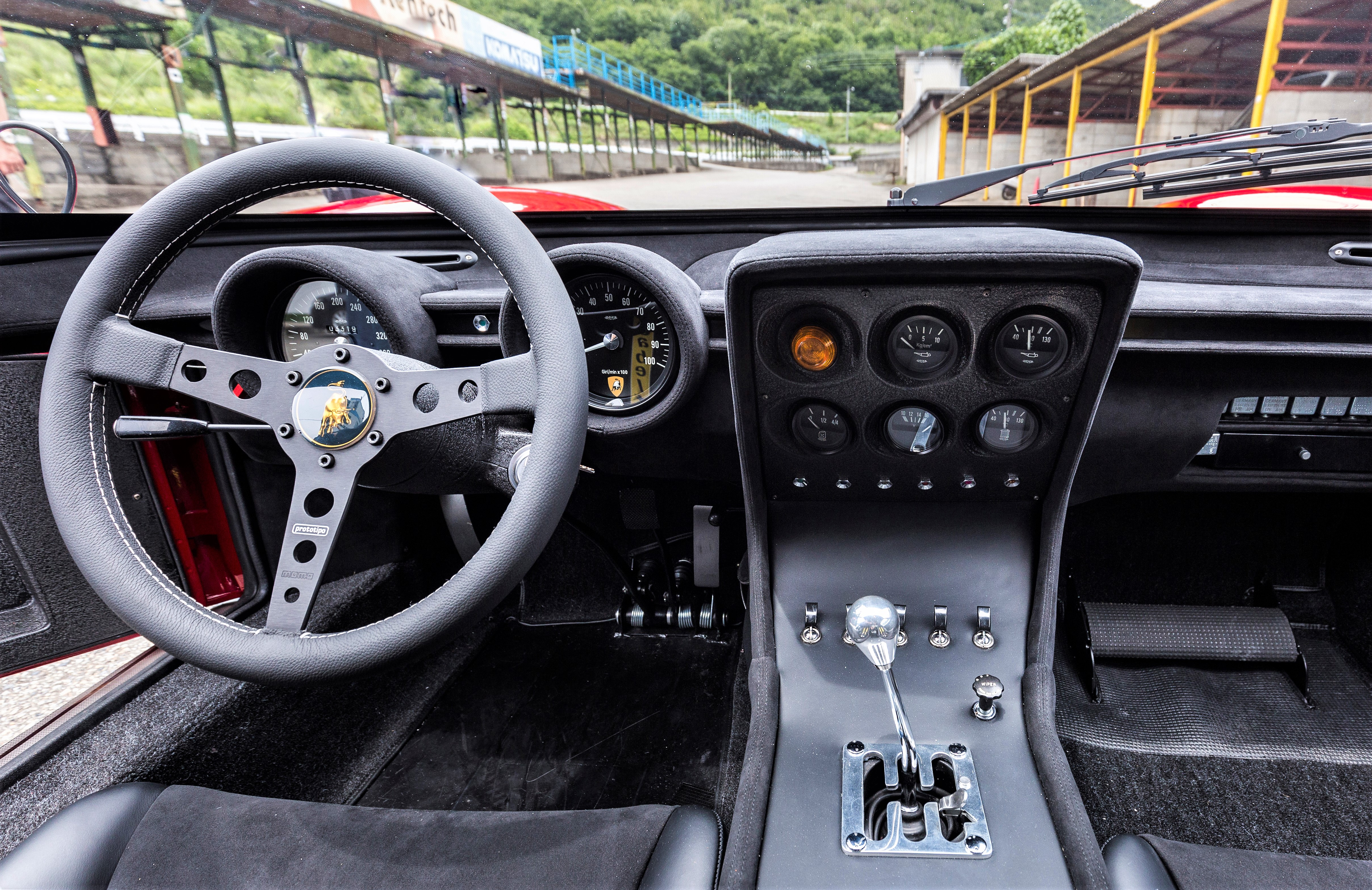 The restored Miura SVR received some safety upgrades