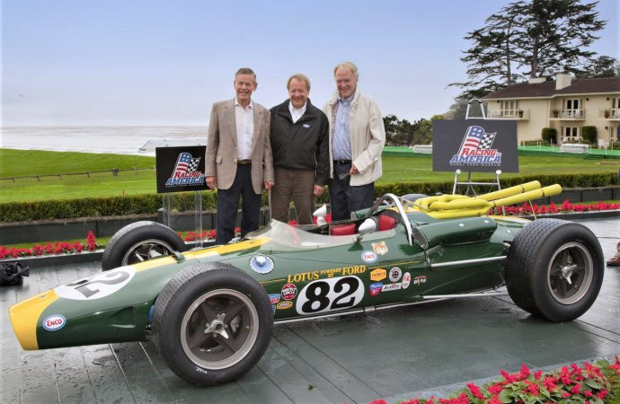 Indy 500 'revolution' celebration at Pebble Beach Concours