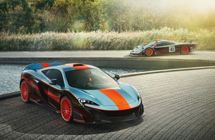 McLaren builds one more longtail F1 racer
