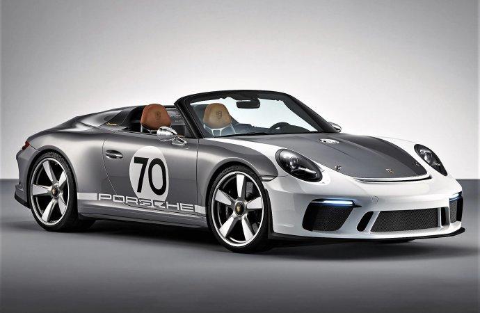 Porsche 911 Speedster Concept honors 70-year anniversary