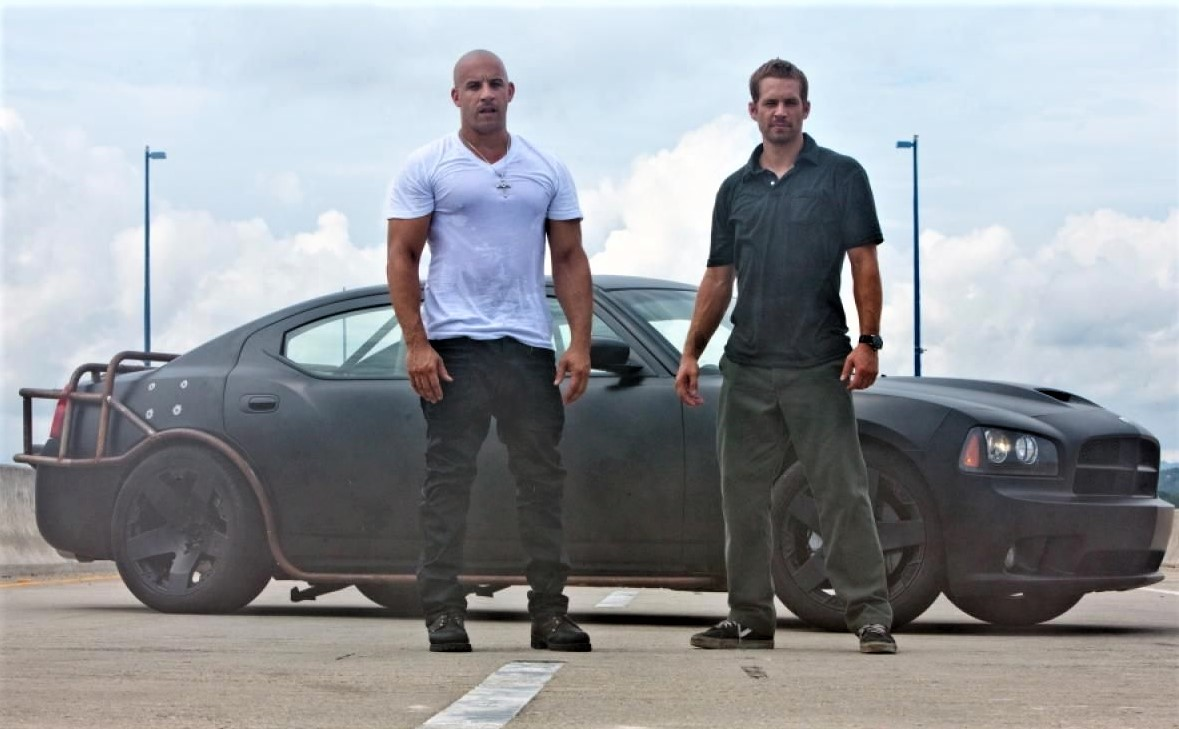 Paul Walker (right) with co-star Vin Diesel | Universal Pictures