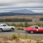 Porsche 911T and Jaguar E-Type