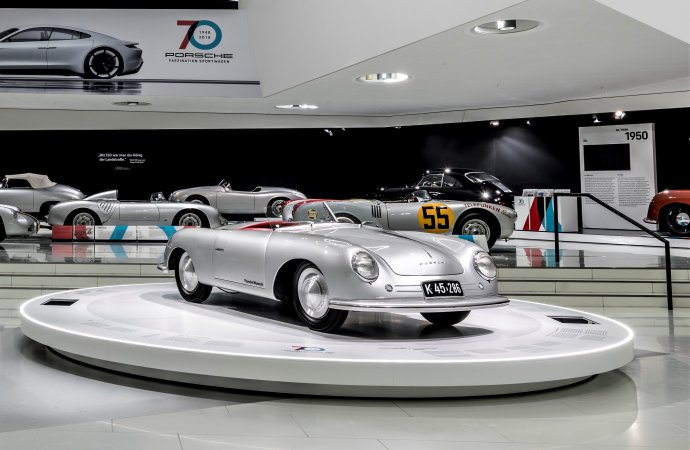 Porsche marks 70th anniversary in Stuttgart, around the world