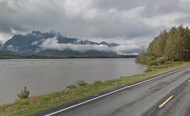 Haines Highway in Alaska | Google Maps photo