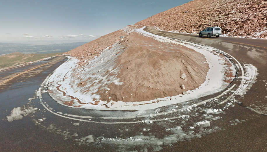 Pikes Peak Highway in Colorado | Google Maps photo