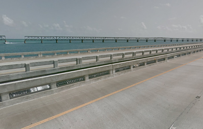 Florida's Seven Mile Bridge | Google Maps photo