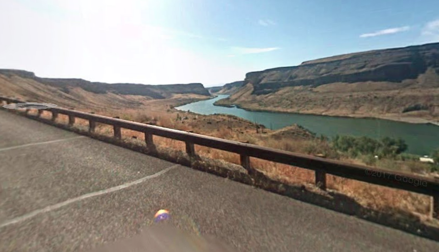 The Wester Historic Byway, aka Swan Hills Road, in Idaho | Google Maps photo