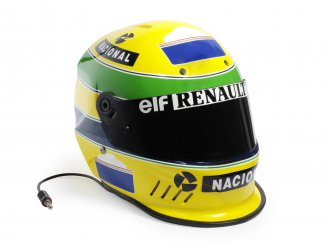 Champions' helmets on Bonhams' Goodwood docket
