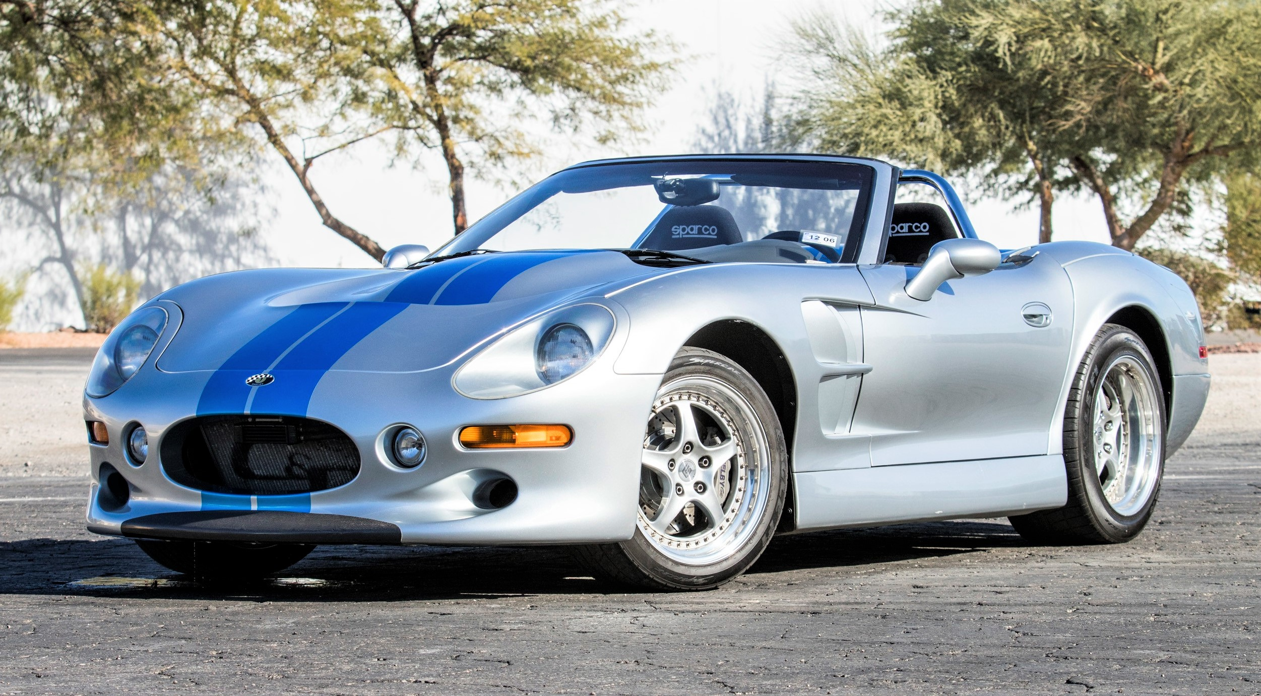 The Shelby Series 1 was from Carroll Shelby's collection