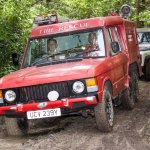 Simply Land Rover Forest Drive – six wheeled Range Rover