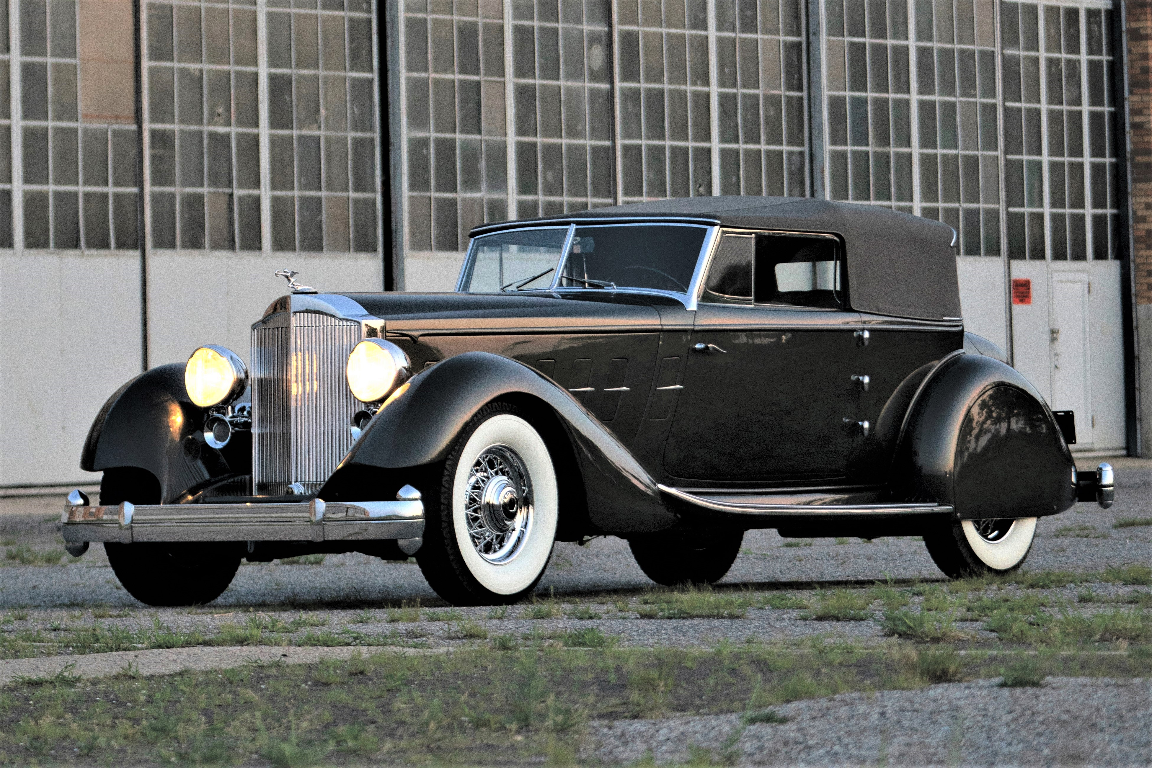 The Packard Twelve is one of the few bodied by Dietrich | RM Sotheby's photos