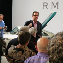 Andy Reid will lead two Monterey auction tours