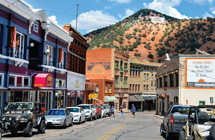 Once at risk of becoming another empty mining town, Bisbee was transformed into an artists' haven. | Facebook photo