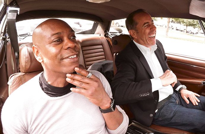 Comedian Dave Chappelle will be one of the guests on Jerry Seinfeld's Newflix show, Comedians in Cars Getting Coffee. | Facebook photo