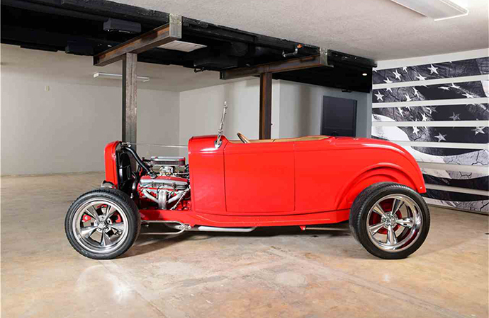 This custom 1932 custom Ford roadster will be on the block at Barrett-Jackson's Northeast auction in Uncasville, Connecticut that runs June 20-23. | Barrett-Jackson photo