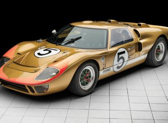 GT40 from Ford's historic Le Mans sweep going to auction
