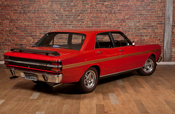 This 1971 Ford Falcon GTHO Phase III was the first Australian-made car to sell for more than $1 million AUD.   , Lloyd's Auctioneers and Valuers photo