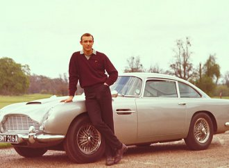 Could James Bond's stolen Aston Martin be in the Middle East?
