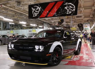 Watch the last Dodge Demon get built, roll off production line