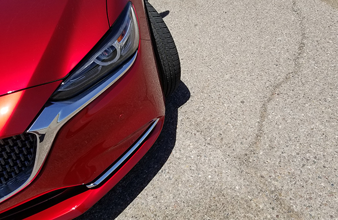 The loaded Mazda6 comes in under $40,000 and has some great lines. | Carter Nacke photo