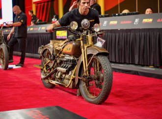 Pre-war motorcycles top Mecum's Vegas auction