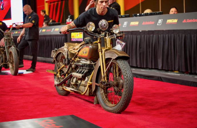 Pre-war motorcycles top Mecum's Vegas auction