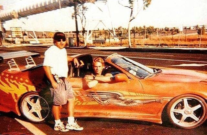 The Fast & the Furious would have been very, very different if it weren't for one man: Craig Lieberman. He is pictured here with star Paul Walker and the hero car Toyota Supra. Lieberman owned the Supra used in the film. | Instagram photo